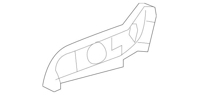 2006-2008 Honda CIVIC HYBRID SEDAN Cover, R Front Seat