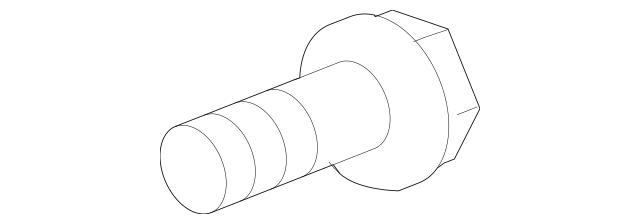 2010-2019 Hyundai Lower Control Arm Adjust Bolt 55260
