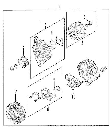How To Remove Alternator From A 2001 Mitsubishi Montero
