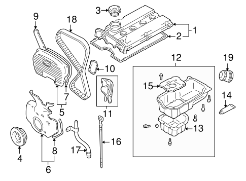 Wiring Diagram PDF: 2003 Hyundai Sonata Engine Diagram