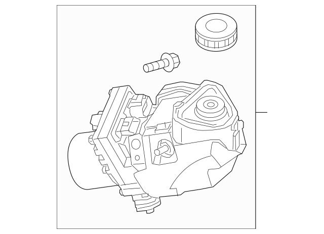 2016-2018 Nissan Maxima Power Steering Pump 49110-4RA5A