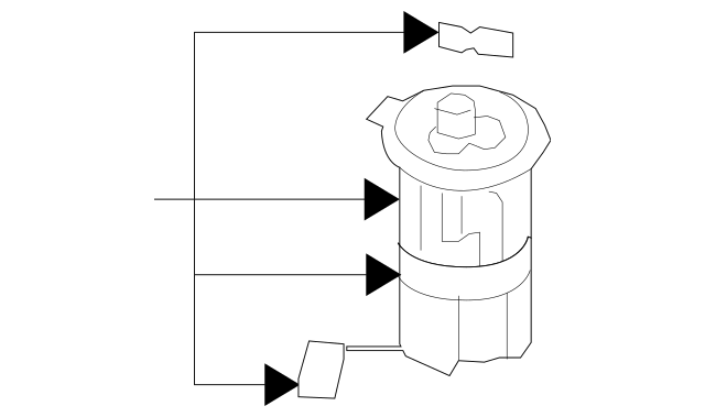 2010-2012 Hyundai Santa Fe Fuel Pump[device=moves Liquid