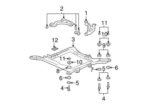 OEM 2003 Buick LeSabre Suspension Components Parts