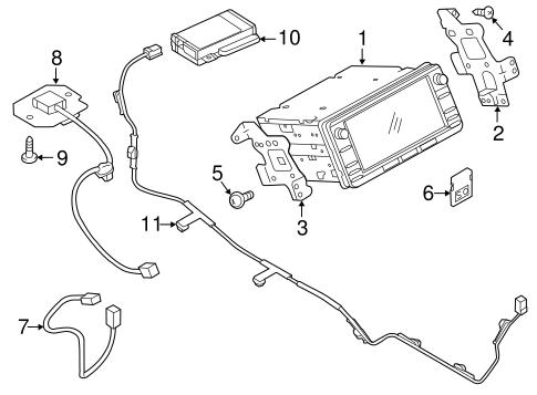 Navigation System for 2015 Mitsubishi Outlander Sport