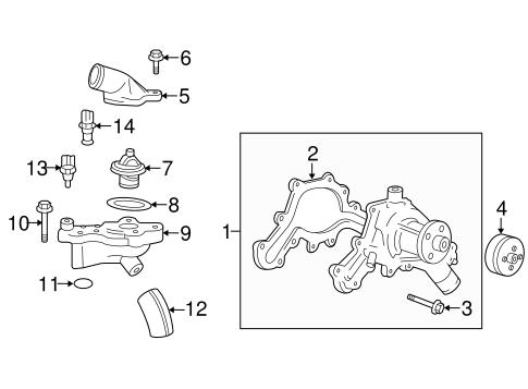 Coolant Temp Sensor for 2005 Mazda Tribute|AJ57-18-840A