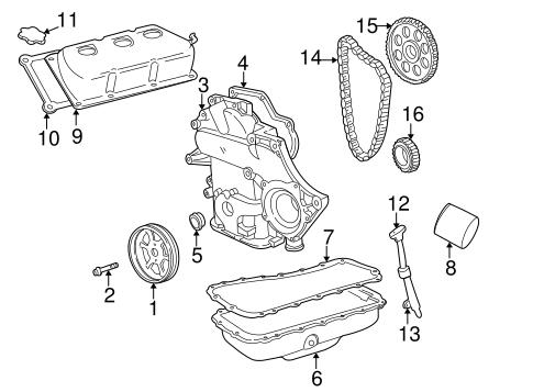 Timing Cover for 2005 Dodge Caravan|5019333AF