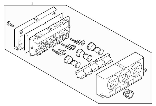 2013-2015 Subaru BRZ Dash Control Unit 72311CA062