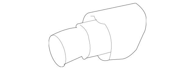 Genuine Mercedes-Benz Exhaust Tail Pipe Tip 164-490-22-27