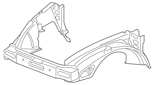 2003-2006 Chevrolet SSR Inner Panel Assembly 15260173