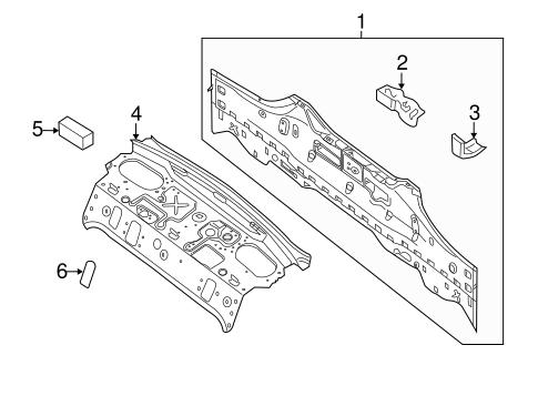 2010 Nissan Altima Parts Diagram