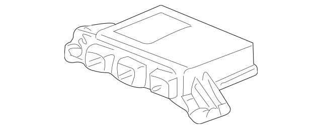 2002-2004 Acura RSX HATCHBACK SRS Unit 77960-S6M-A92