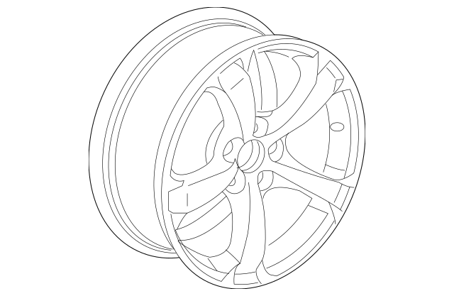 2009-2011 Acura TL SEDAN Disk, Aluminum Wheel (18X8J