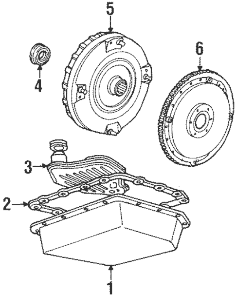 90 Ford 5 0 Engine Auto Transmission Diagram