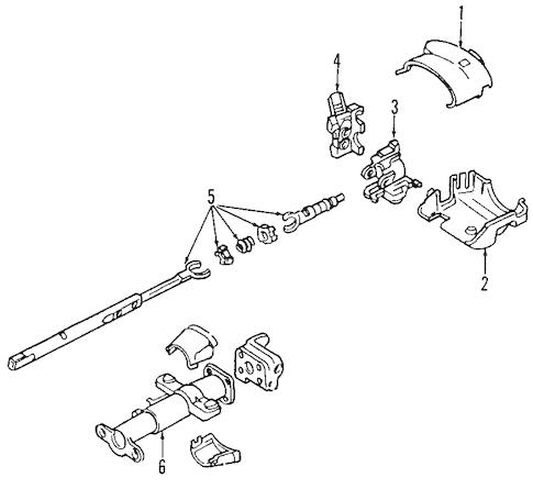 STEERING WHEEL Parts for 2003 Chevrolet Trailblazer EXT