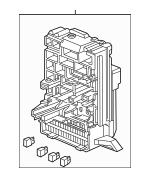 2007-2008 Honda ELEMENT 5-DOOR Box Assembly, Fuse 38200
