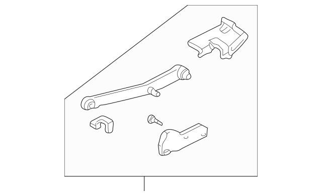 1995-2001 BMW Slide Rail Repair Kit 54-12-8-173-101