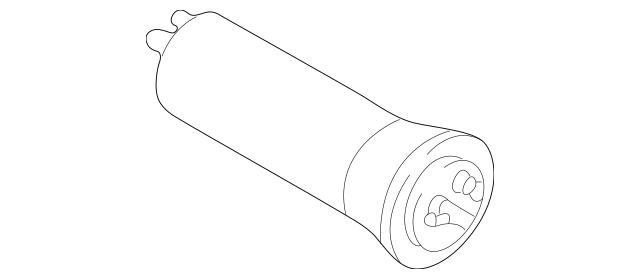 Genuine OEM Fuel Filter Part# 16-12-6-754-016 Fits 2002