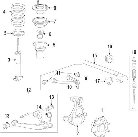 Suspension Components for 2007 Chevrolet Silverado 2500 HD