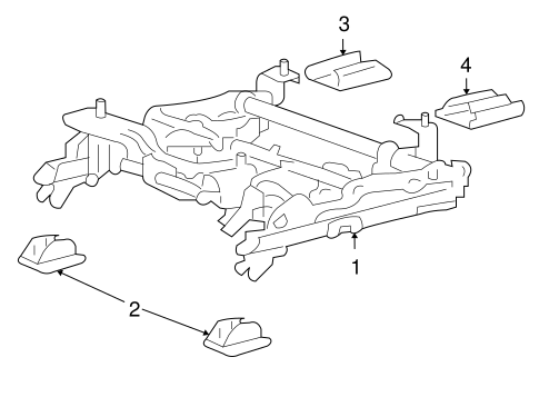 TRACKS & COMPONENTS for 2007 Chevrolet Impala