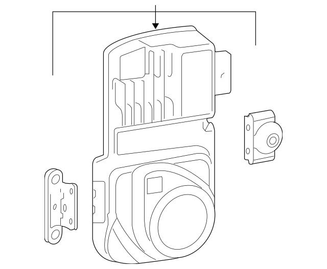 Volkswagen Distance Sensor (3D0-907-561-J) For Sale