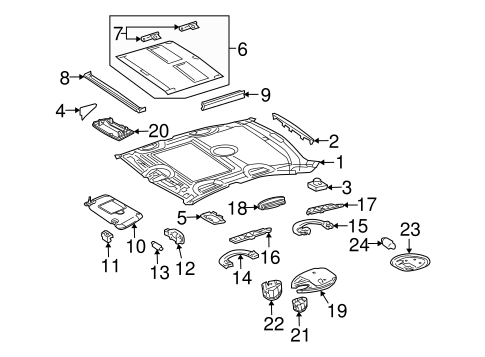 Anti-Theft Components for 2007 Mercedes-Benz CLS 550