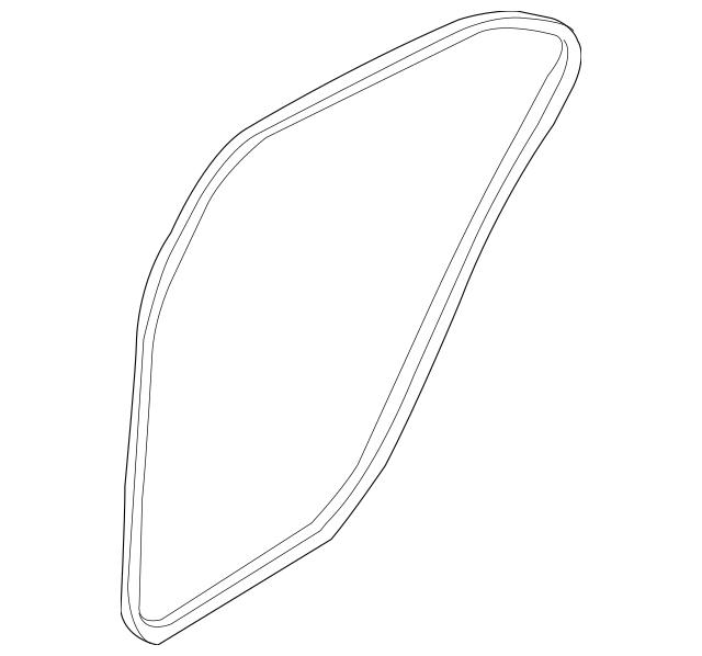 2011-2016 Hyundai Elantra Weather-Strip On Body 83120