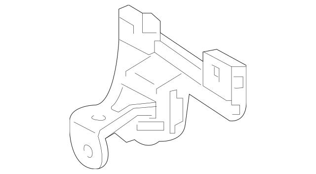 2019-2020 Acura MDX 5-DOOR Retainer, Parking Sensor (R
