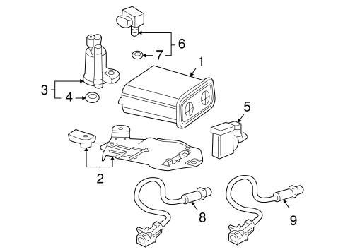 Oxygen Sensor for 2004 Buick Rainier|12567127 : GM Parts
