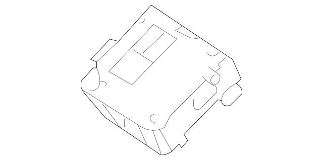 Mercedes-Benz Remanufactured Navigation Unit Usa High 164