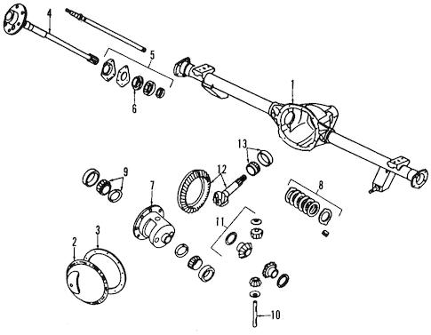 PROPELLER SHAFT for 1993 Jeep Wrangler