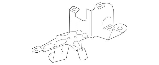 Audi Filter Element Mount Bracket (7L6-127-224-B