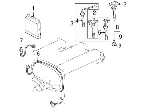 Powertrain Control for 2006 Mitsubishi Lancer
