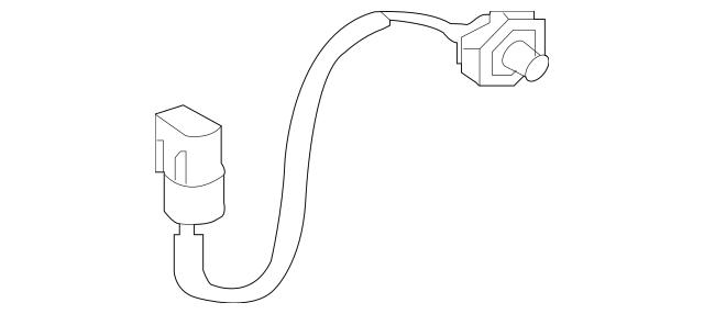 2003-2006 Mitsubishi Lancer Knock Sensor MR578117