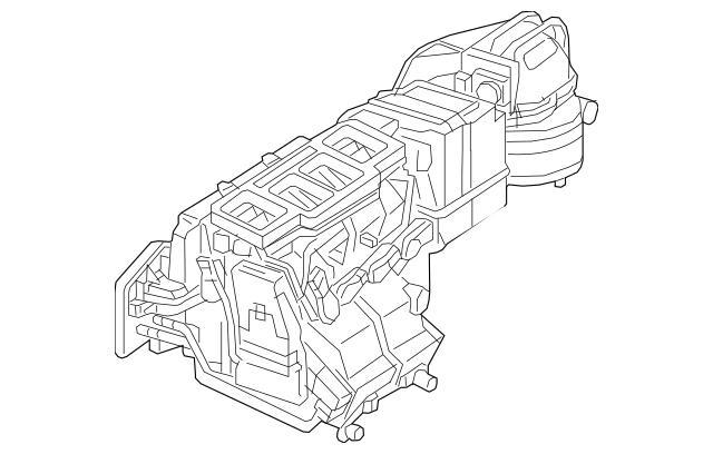 2016-2018 Mercedes-Benz AC & Heater Assembly 463-830-19-60