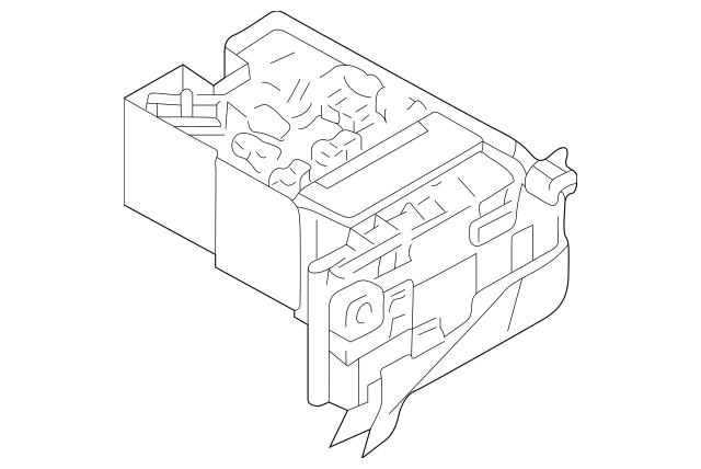 1999-2001 Mitsubishi Galant Fuse Box MR301834
