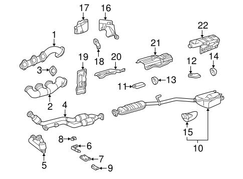 Exhaust Manifold for 2002 Mercedes-Benz CLK 430