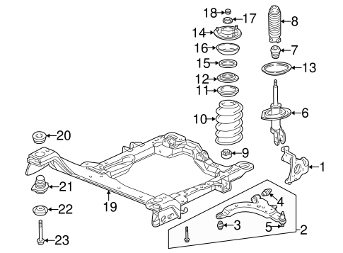 Suspension Components for 2005 Buick Terraza