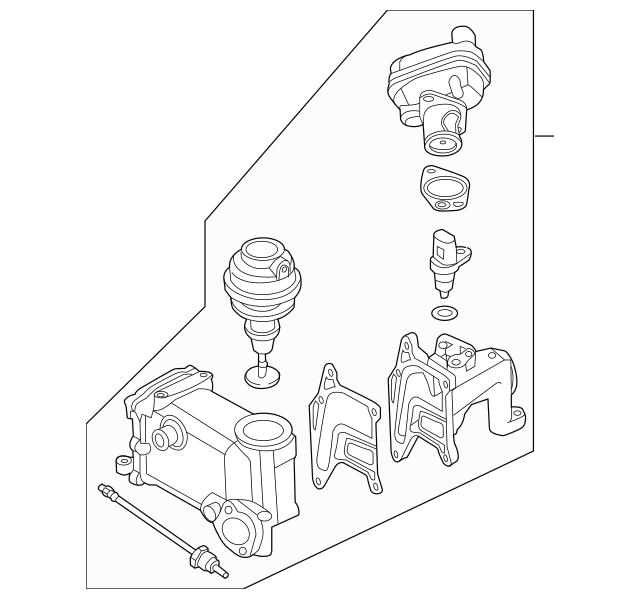 Genuine OEM Egr Cooler Part# 059-131-515-FP Fits 2013-2015