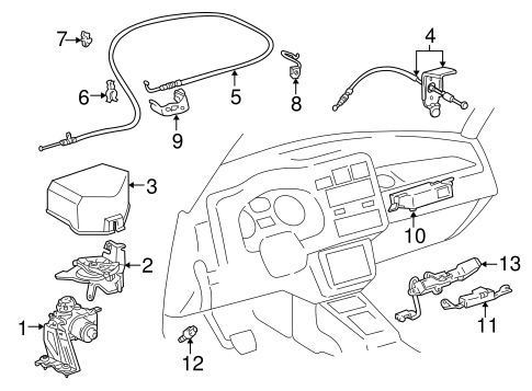 Fuel System Components for 1998 Toyota RAV4