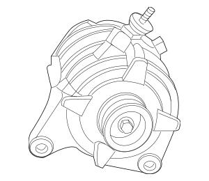 2009-2010 Volkswagen Routan Alternator 7B0-903-015-B
