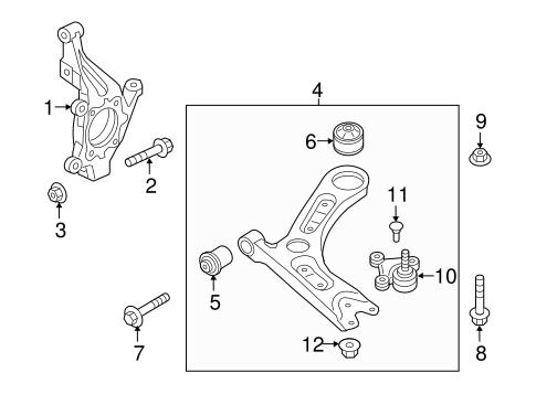 Sonata Front Suspension/Suspension Components Parts