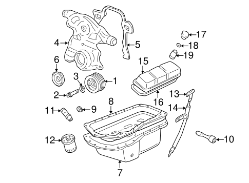Engine Parts for 2003 Chevrolet Impala