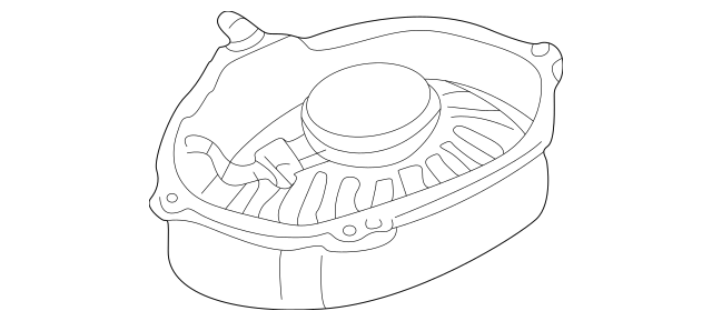 Genuine OEM Speaker Part# 65-13-8-368-243 Fits 1999-2005