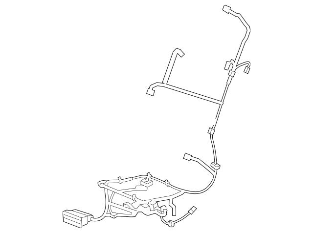 2010-2013 Buick LaCrosse Power Seat Wiring Harness