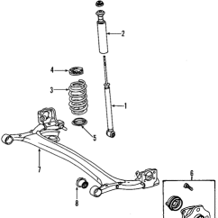 2007 Toyota Yaris Trd Parts New Agya 1.2 Genuine Oem Rear Axle For Base Olathe Suspension