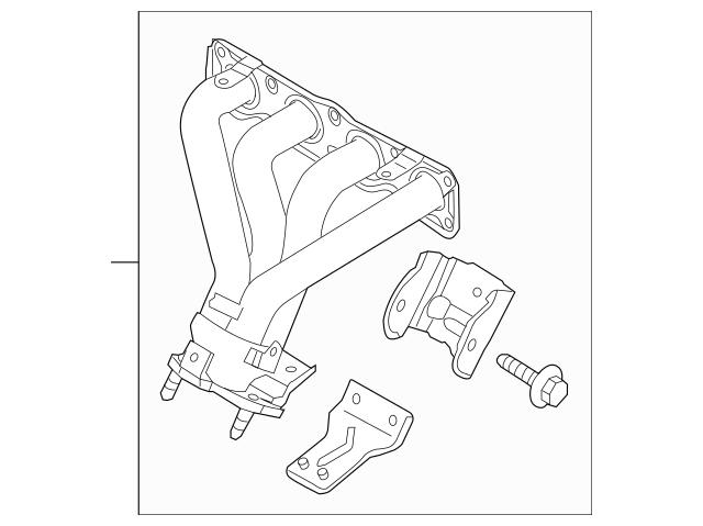 2011-2013 Kia Sportage Exhaust Manifold 28500-2G300