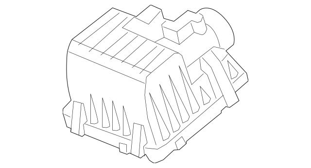 Genuine 2009-2013 Honda FIT 5-DOOR Cover, Air Cleaner