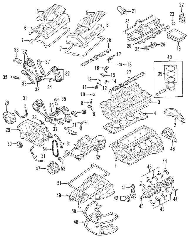 Genuine OEM Piston Rings Part# 11-25-7-549-510 Fits 2004