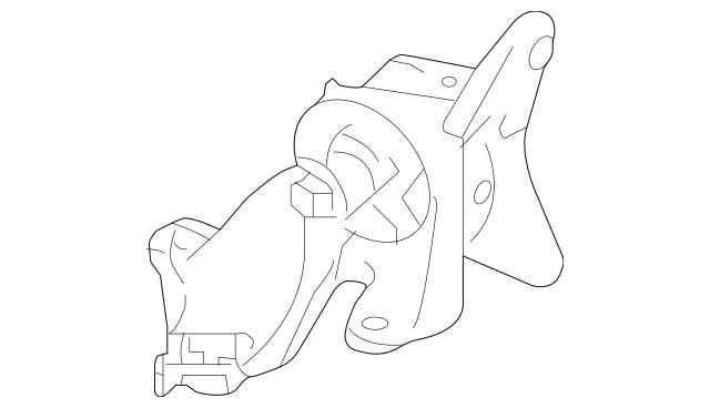 Genuine 2012-2014 Honda CR-V 5-DOOR Mounting, Transmission