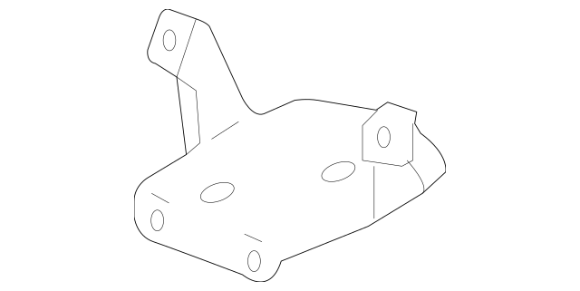 2006-2008 Honda PILOT 5-DOOR Bracket, Mounting 39836-S9V